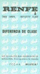 Complementario de diferencia de clase. Primera serie.