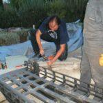 Adaptando el hueco para la placa giratoria de Torrelo