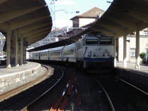 Estación de Ourense - Empalme