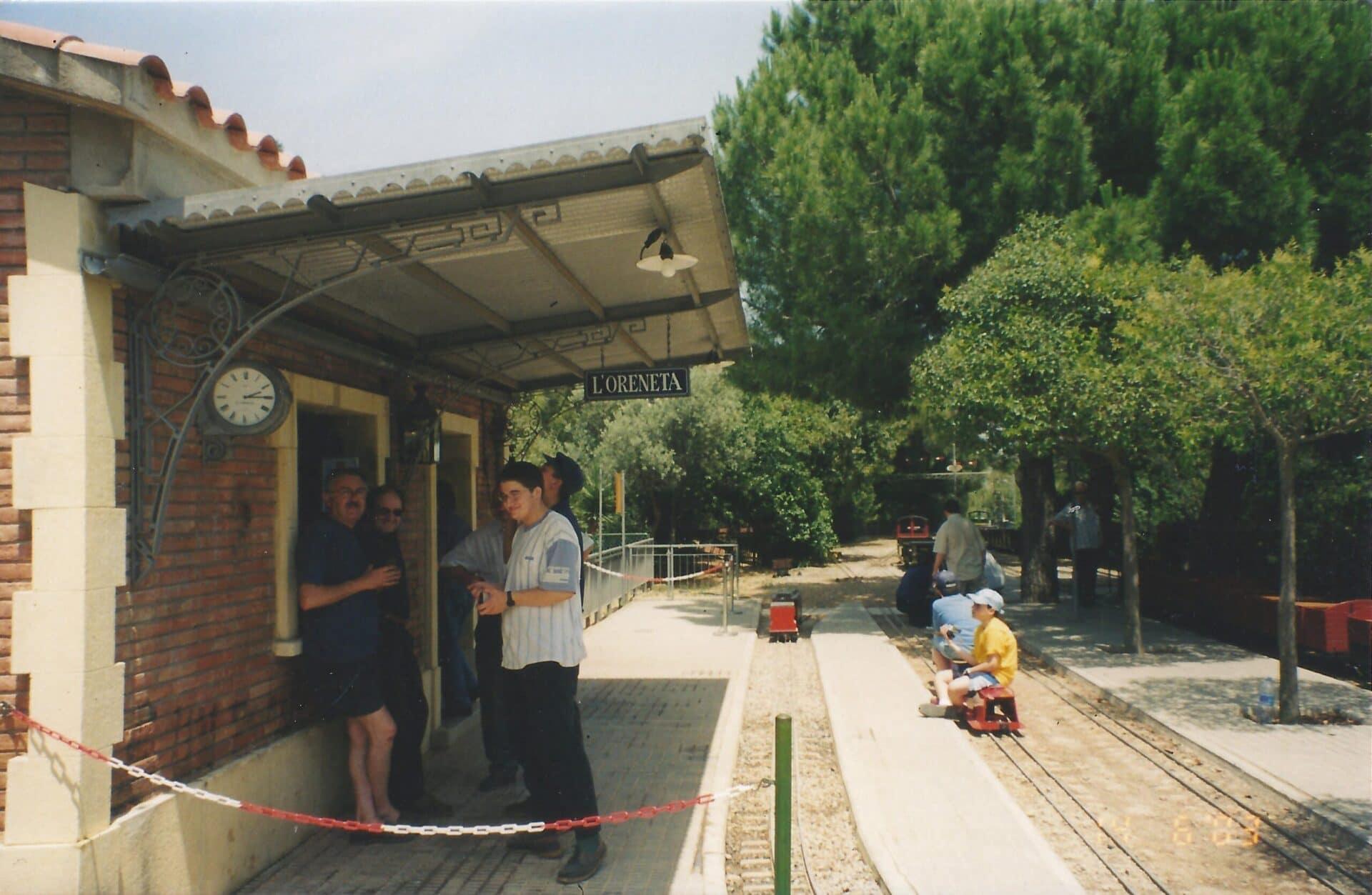 Estación de L'Oreneta