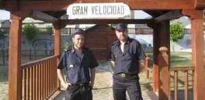 Los dos miembros del Círculo en el circuito de Toral de los Vados.