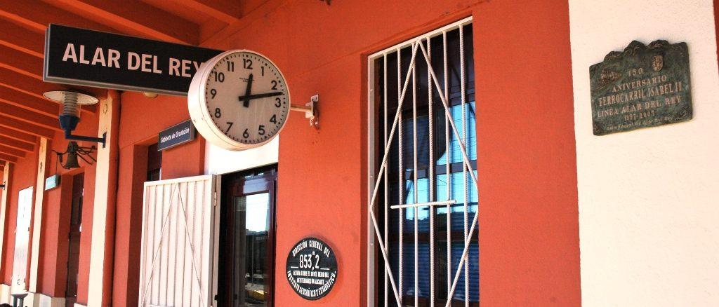 Estación de Alar del Rey (Palencia)