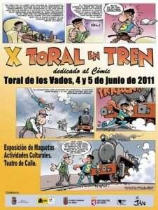 Cartel Toral en Tren 2011.