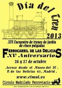 Carte Día del Tren 2013.