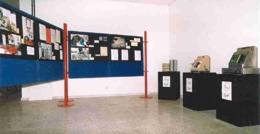 Paneles de la exposición