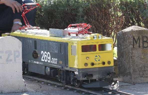 Locomotora BB-01 269-007