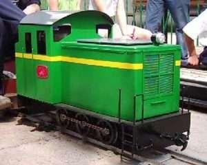 Locomotora C1 Paloma