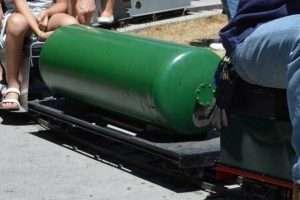Vagón cisterna de bogies