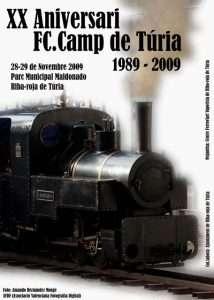 Cartel XX aniversario FC Camp de Túria