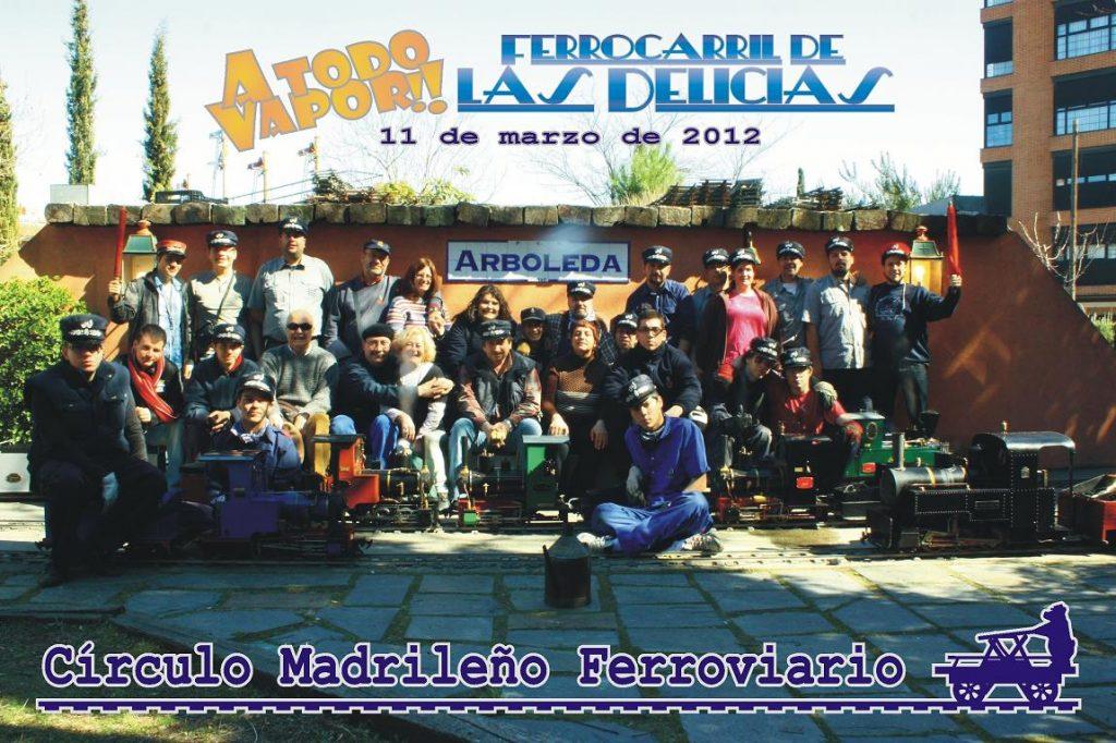 Foto de grupo del 18º A Todo Vapor!!