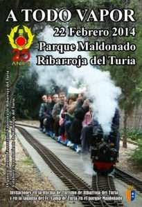 Cartel ATV Ribarroja 2014.