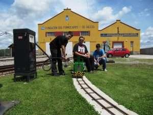 """Visita al circuito de 5"""" de Monforte de Lemos (Lugo)"""