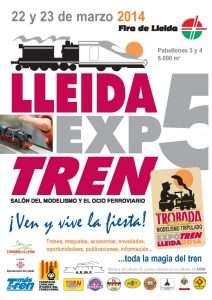 Cartel Expotrén 2014.