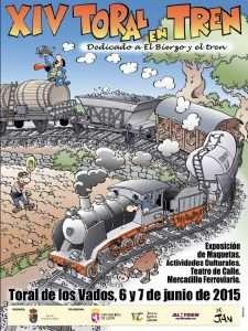 Cartel Toral en Tren 2015.