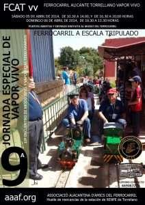 Cartel 10º Encuentro de Modelistas del FCAT vv (Elche, Alicante).