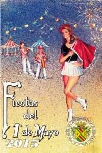 Cartel Fiestas del 1º de mayo en el Gorronal.