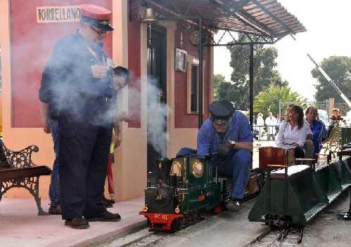 Circuito de Vapor Vivo - Ferrocarril Alicante Torrellano