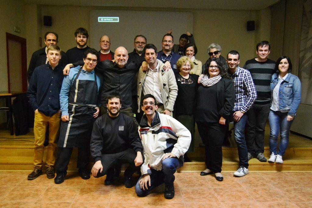 Grupo de la jornada cultural del 29º A Todo Vapor!!