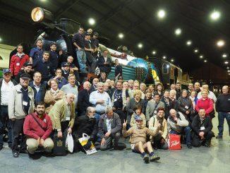 Foto de grupo tras la cena informal del 54º Congreso de la FEAAF en Madrid.