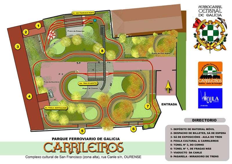 Plano del FC Central de Galicia
