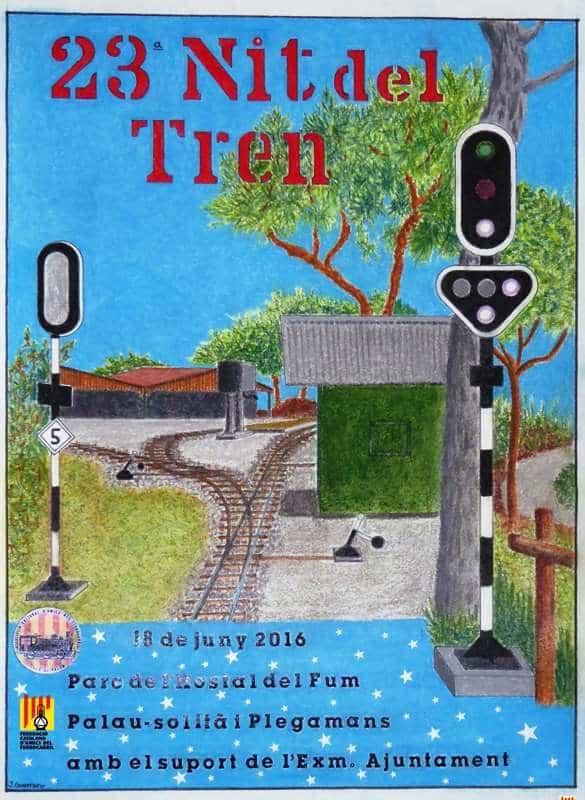 Cartel XXIII Nit del Tren de Palau