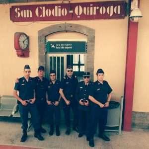 Zapadores del Círculo en San Clodio-Quiroga