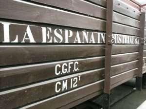 Un vagón histórico de FGC.