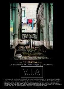 """Cartel del documental """"Vía Estrecha"""""""