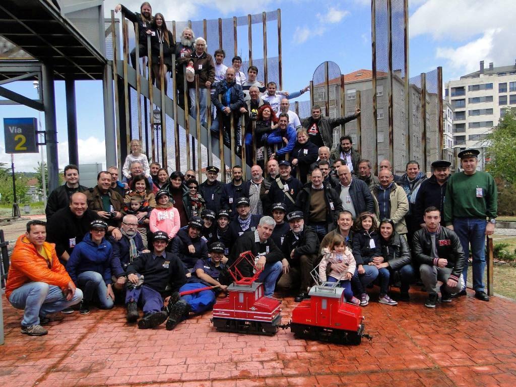 Foto de grupo XIV Xuntanza Carrileiros de Foula