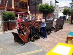 Tren minero en Toral de los Vados