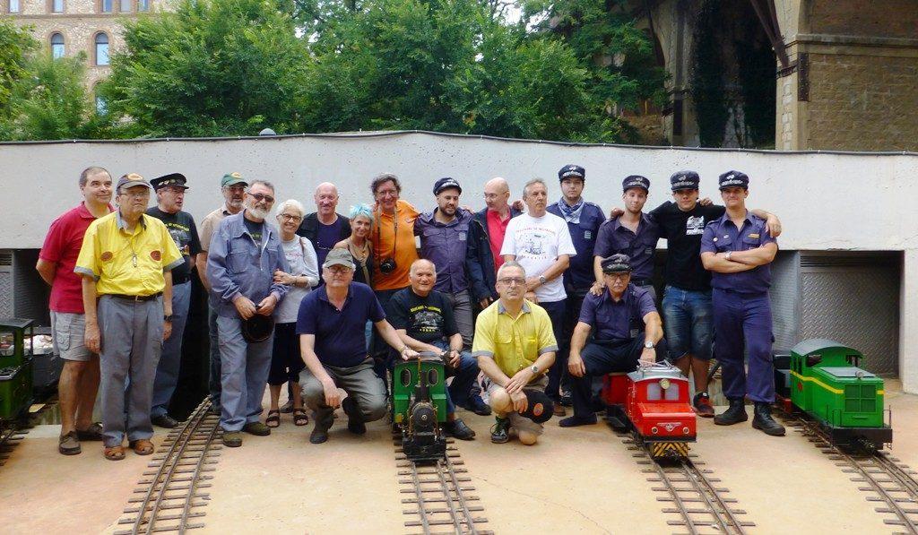 Foto de grupo de la 22ª Trobada del FC de Vallparadís