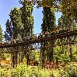 """Tren de 10"""" en el viaducto de Sabadell"""