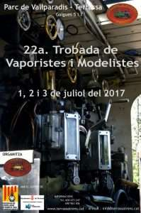 Cartel 22ª Trobada FC de Vallparadís (Terrassa)