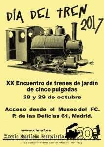 Cartel Día del Tren 2017