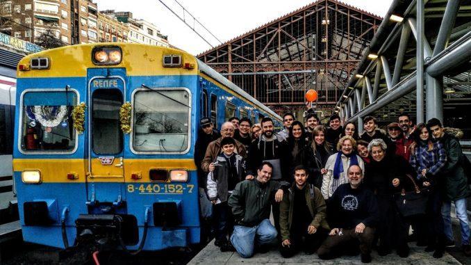 Foto de grupo del Tren de los Reyes Magos'17-18