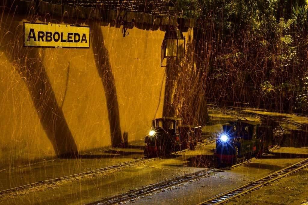 """La """"Alicia"""" y la """"Carmela"""", en Arboleda"""