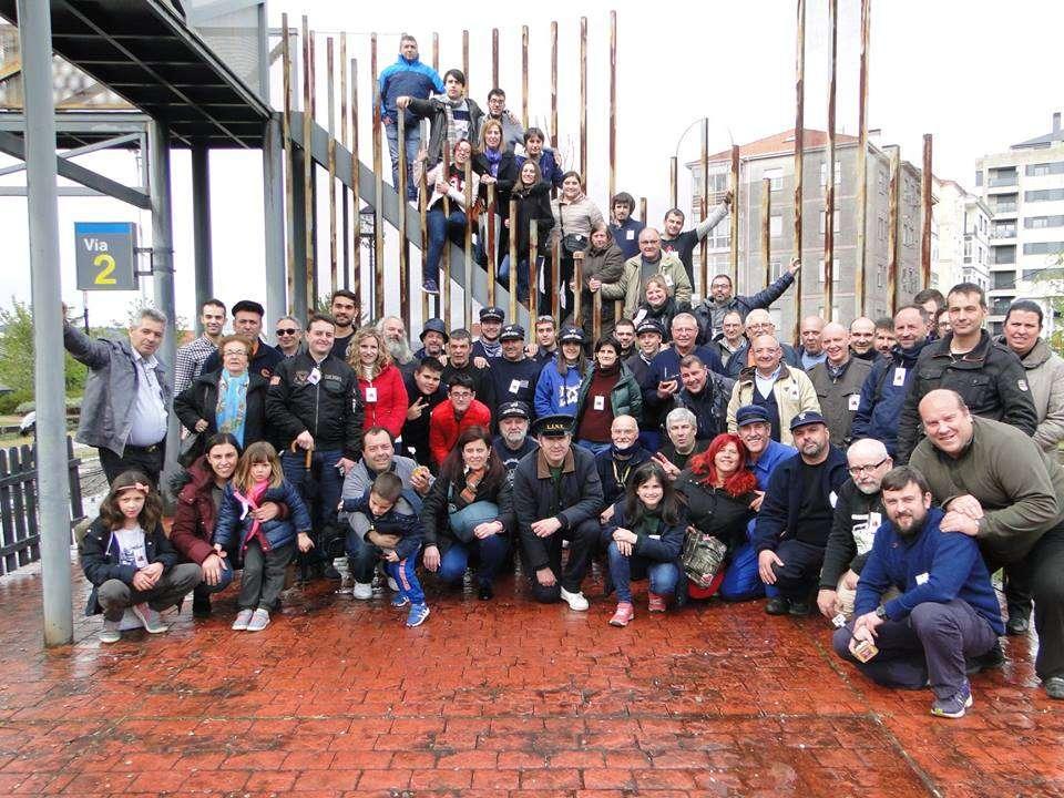 Foto de grupo XV Xuntanza FC Central de Galicia