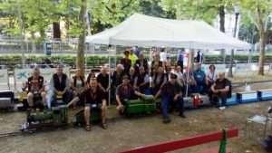 Foto de grupo en el Bosquecillo