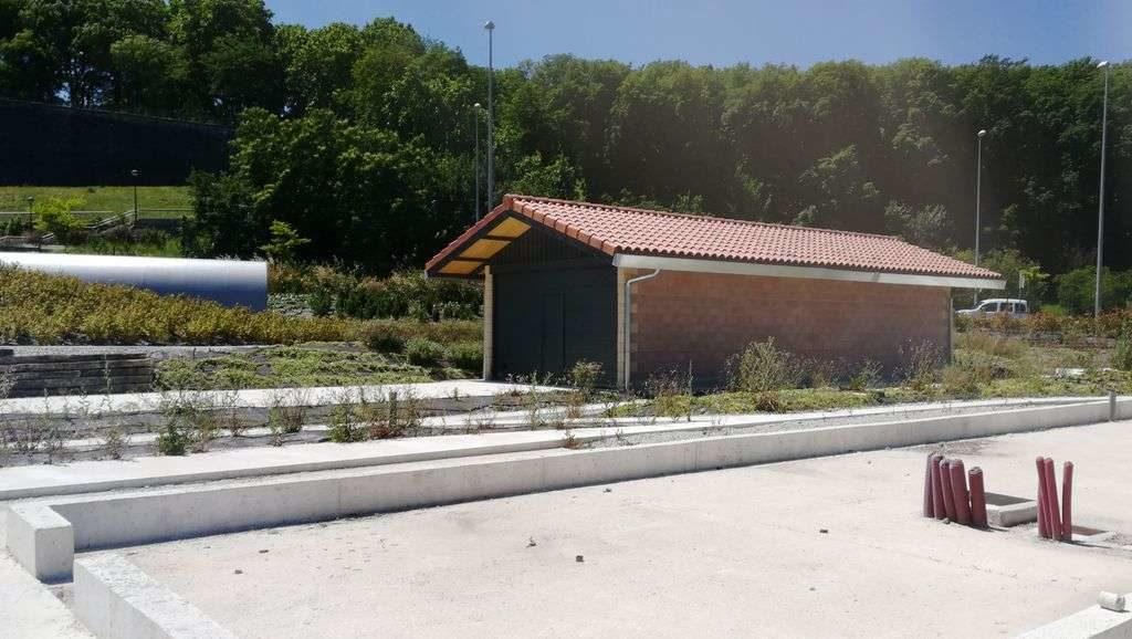 Cochera y cimientos de la estación del Tren de los Trinitarios