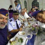 El grupo, en la cena del XVII Toral en Tren