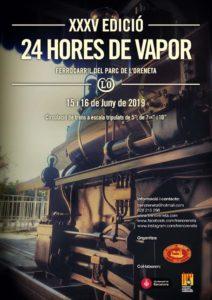 Cartel XXXV 24h vapor Oreneta 2019