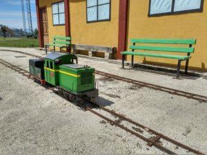 """La """"Paloma"""" en el Parque Ferroviario de Monforte de Lemos"""