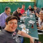Comiendo en Monforte de Lemos (Lugo)