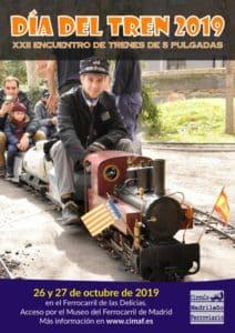 Cartel Día del Tren 2019