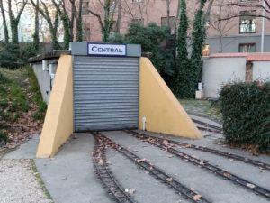 El túnel de Central tras las obras de 2019