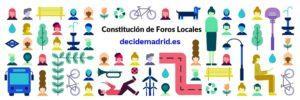 Reconstitución de los Foros Locales de Madrid