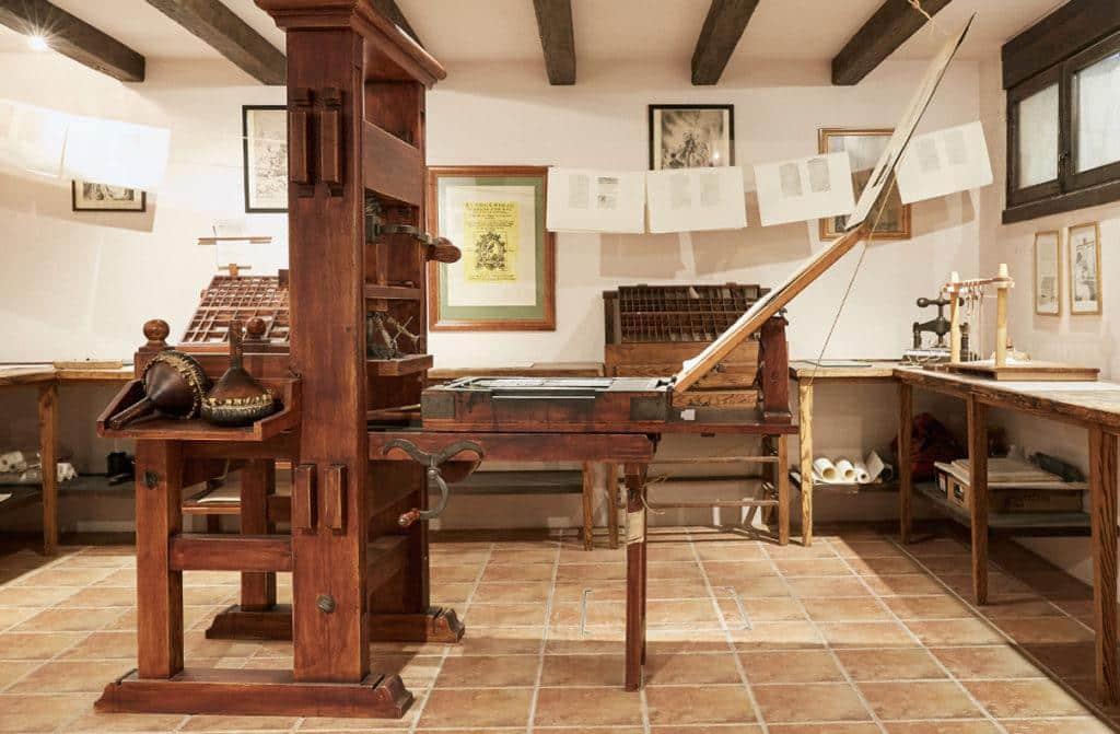 "La ""imprenta del Quixote"", en la Sociedad Cervantina"