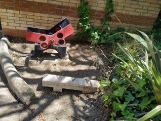 La balastera de Turmalina una vez limpiada