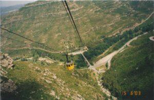 Descenso en el Aeri de Montserrat