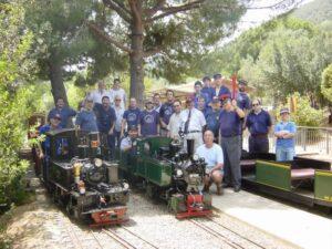 Foto de grupo en L'Oreneta